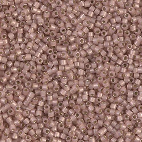 Miyuki Delica Beads 11/0 DB1459 Silver Lined Shell Opal 7.2 grams