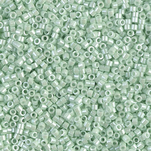 Miyuki Delica Beads 11/0 DB1536 Opaque Light Mint Ceylon 7.2grams