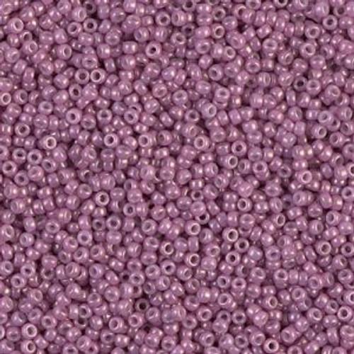 Miyuki Seed Beads 8-91867 Opaque Dark Orchid Lustre 22 grams