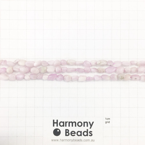 KUNZITE Nugget Beads, Natural, Lilac, ~6x9mm