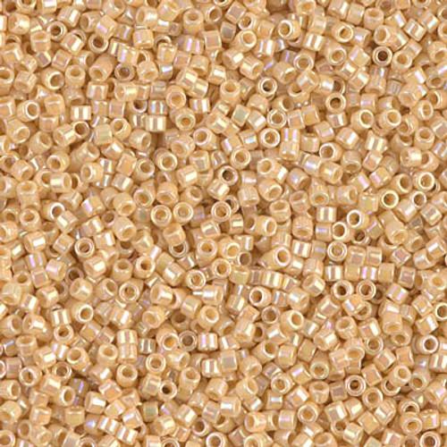 Miyuki Delica Beads 11/0 DB1571 Opaque Pear AB 7.2 grams