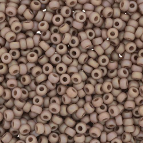 Miyuki Seed Beads 8/0 8-94694 Frost Opaque Glaze Rainbow Lavender 22 grams