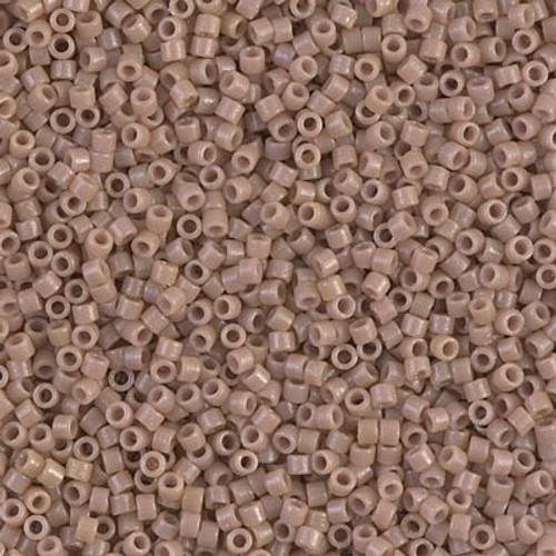 Miyuki Delica Beads 11/0 DB2105 Duracoat Opaque Beige 7.2 grams