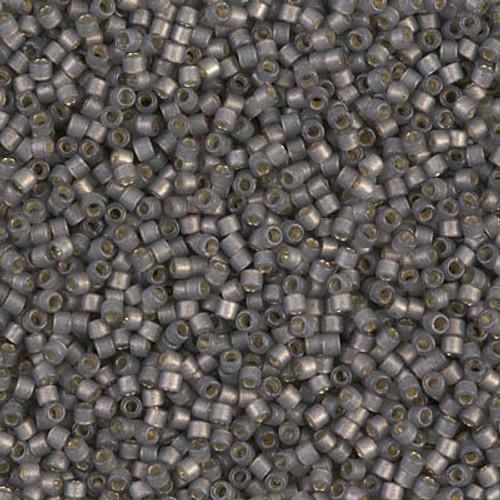 Miyuki Delica Beads 11/0 DB2185 Silver Lined Duracoat S/F Acacia 7.2 grams