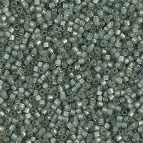 Miyuki Delica Beads 11/0 DB2190 Silver Lined Duracoat S/F Laurel 7.2 grams