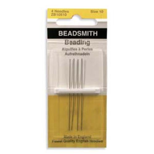 John James English Beading Needles, Size 10 x [4 pcs]