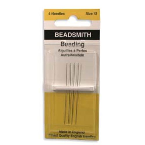 John James English Beading Needles, Size 13 x [4 pcs]