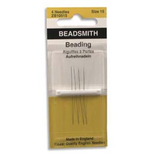 John James English Beading Needles, Size 15 x [4 pcs]