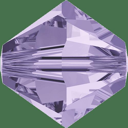 Swarovski 5328 Xilion Bicone Beads, Violet [10pcs]