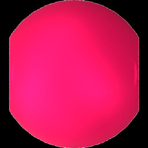 Swarovski 5810 Round Pearl Bead, Crystal Neon Pink [10pcs]