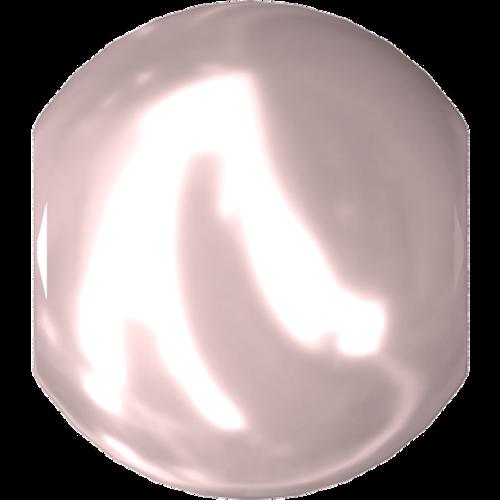 Swarovski 5810 Round Pearl Bead, Crystal Rosaline [10pcs]