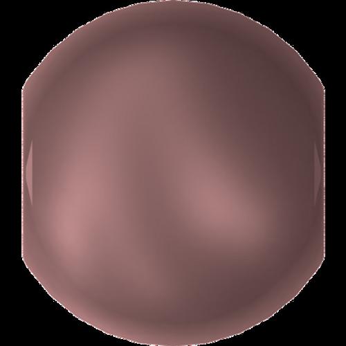 Swarovski 5810 Round Pearl Bead, Crystal Velvet Brown [10pcs]