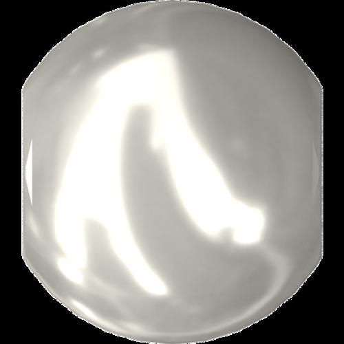 Swarovski 5810 Round Pearl Bead, Crystal White [10pcs]