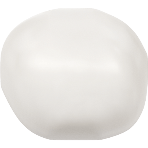 Swarovski 5840 Baroque Pearl Bead, White 12mm