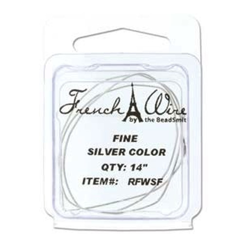 French Wire 0.7mm Silver Colour (Fine)