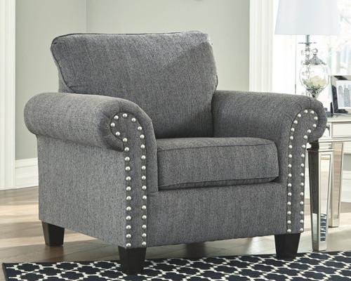 Agleno Charcoal Chair