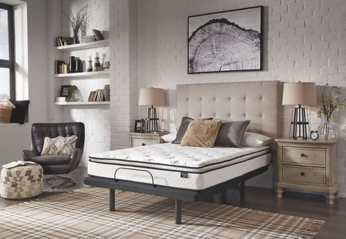 10 Inch Bonnell PT White King Mattress & Adjustable Base img