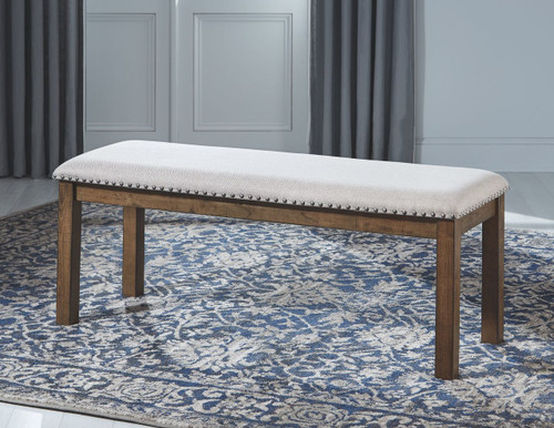 Moriville Beige Upholstered Bench img