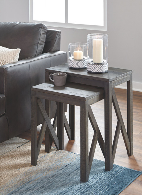 Emerdale Gray Accent Table Set (2/CN) img