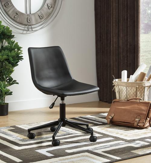 Office Chair Program Black Home Office Swivel Desk Chair img