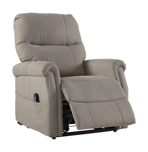 Markridge Gray Power Lift Recliner
