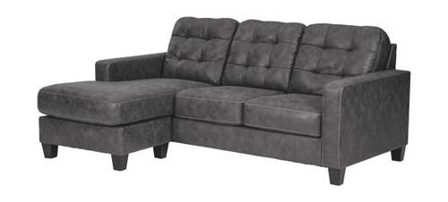 Venaldi Gunmetal Sofa Chaise img