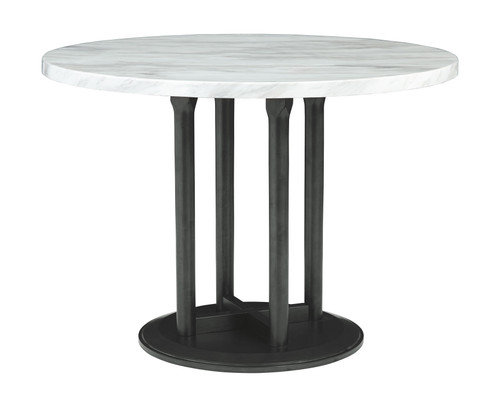 Centiar Two-tone Round Dining Room Table