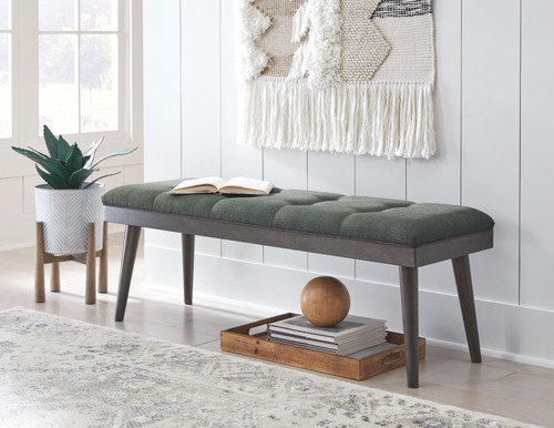 Ashlock Charcoal/Brown Accent Bench img