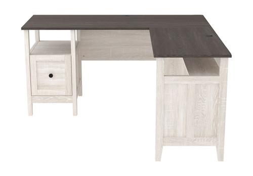 Dorrinson Two-tone 2-Piece Home Office Desk img