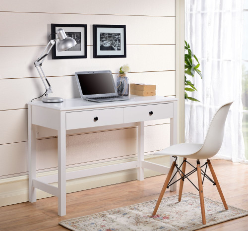 Othello White Home Office Small Desk img