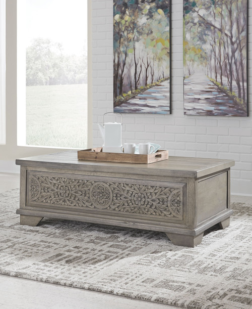 Marcilyn Brown Lift Top Cocktail Table img