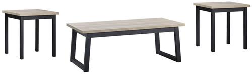 Waylowe Natural/Black Occasional Table Set (3/CN) img