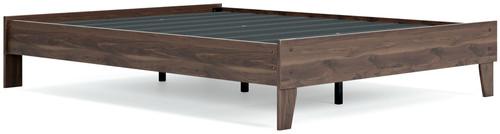 Calverson Mocha Queen Platform Bed img