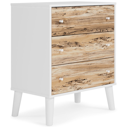 Piperton Two-tone Three Drawer Chest img