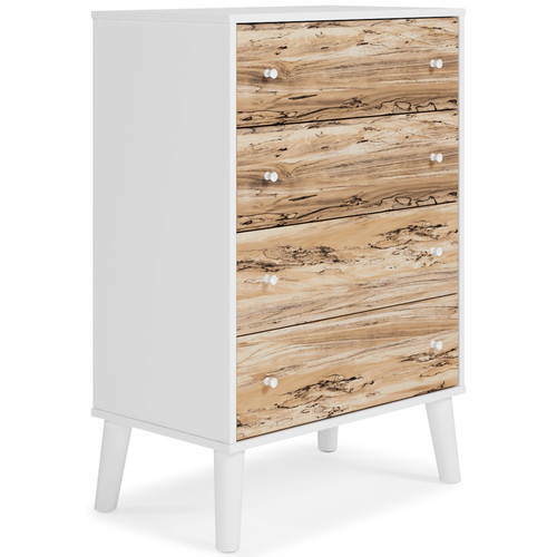 Piperton Two-tone Four Drawer Chest img