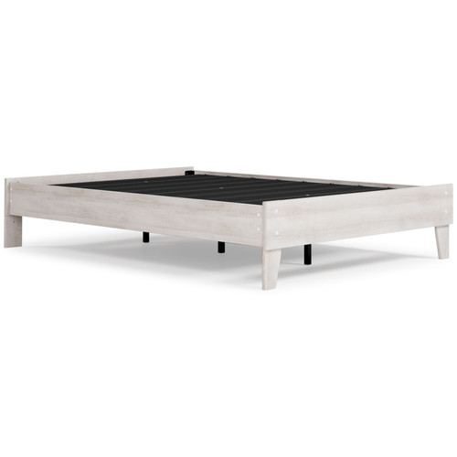 Paxberry Two-tone Full Platform Bed img