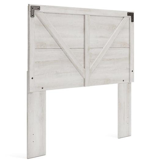 Shawburn Whitewash Full Panel Headboard img