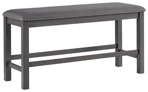 Myshanna Two-tone Gray Double Upholstered Bench (1/CN) img