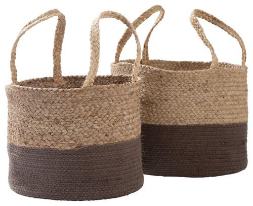 Parrish Natural/Charcoal Basket Set (2/CN) img