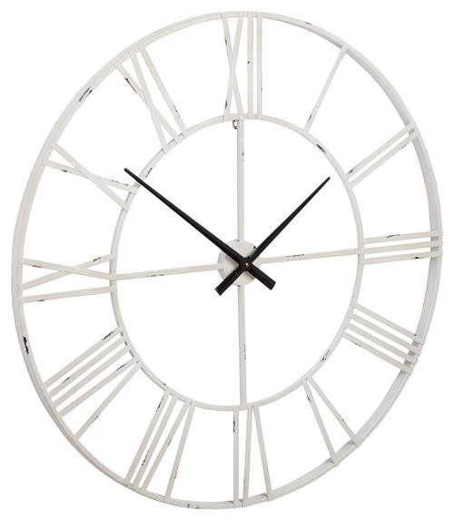 Paquita Antique White Wall Clock img
