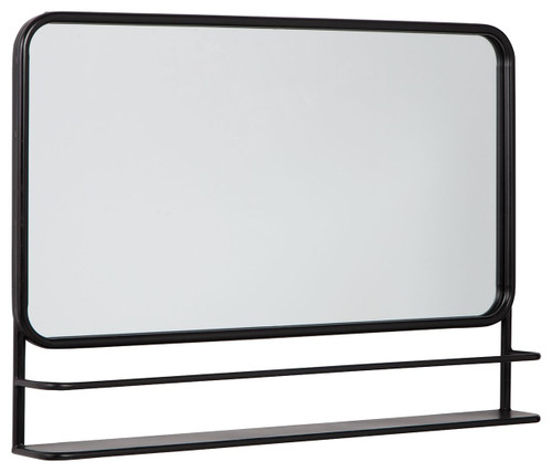 Ebba Black Accent Mirror img