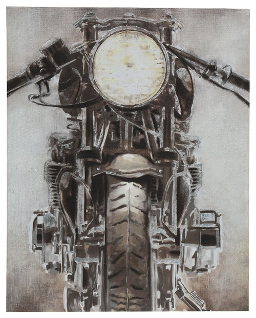 Jaimin Gray/White/Brown Wall Art img