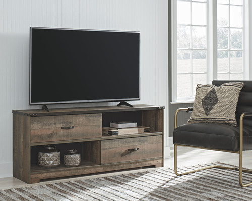 Trinell Brown Large TV Stand img