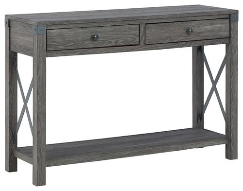 Freedan Grayish Brown Console Sofa Table img