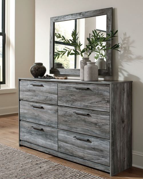 Baystorm Gray Dresser, Mirror img