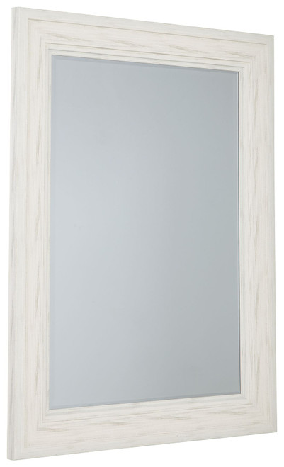 Jacee Antique White Accent Mirror img