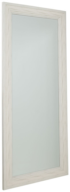 Jacee Antique White Floor Mirror img