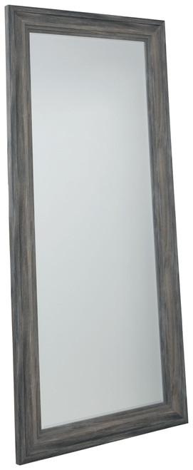 Jacee Antique Gray Floor Mirror img
