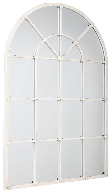 Oengus Antique White Accent Mirror img