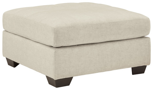 Falkirk Parchment Oversized Accent Ottoman img
